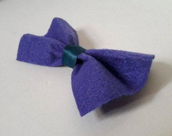 Pokemon inspired Zubat hair bow!