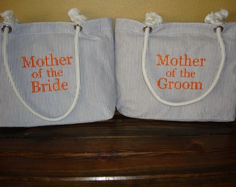 Mother of the Bride Gift// Mother of the Groom Gift//Personalized Gift Bag//Bachelorette Party Gift//Wedding Gift//Graduation Gift