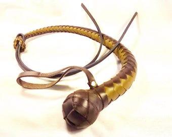 Dog Whip BDSM / Handmade Leather Whip Handmade Leather Whip BDSM toys