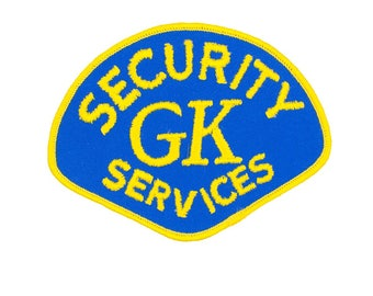 Security GK Services Vintage Patch