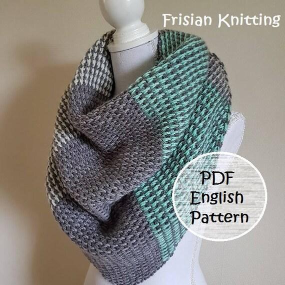 Crochet Pattern Shawl Crochet Pattern Tunisian Stitch Scarf