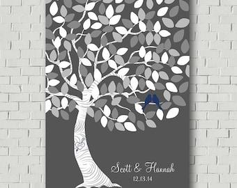Custom Guest Book Wedding Guestbook Alternative, Wedding Tree Guestbook Tree, Wedding Gift Bridal Shower Gift, Wedding Canvas Wedding Signs