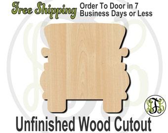 Truck Rear View - 10005- Cutout, unfinished, wood cutout, wood craft, laser cut shape, wood cut out, Door Hanger, wooden, wreath accent