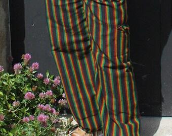 Peruvian natural cotton, trousers pants rasta
