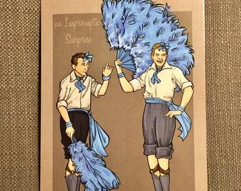 An Impromptu Surprise Postcard (Item 09-307-AA)