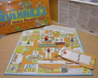 Guiness Book of World Records Board Game