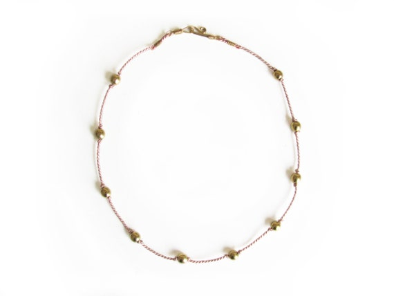 Stella Necklace, ballet pink