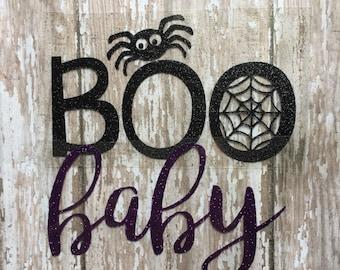 Boo Baby Halloween Iron on Decal/ Halloween Iron on Decal/ Iron on Decal/ DIY Baby Halloween outfit/ Boo Baby Iron on/ DIY Halloween Tee
