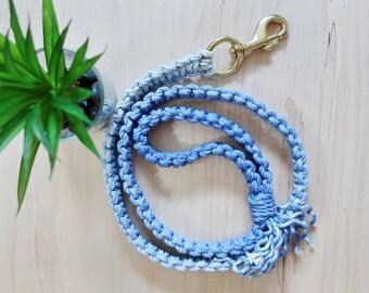 Macrame  dog leash