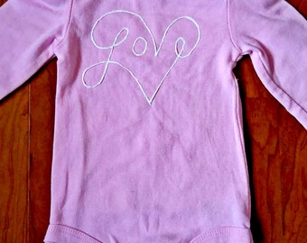 Love Heart Bodysuit