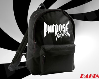 Justin Bieber Purpose tour, Backpack