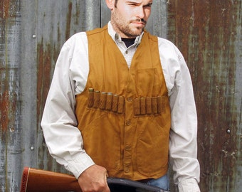 1960s Black Sheep Canvas Upland Bird Hunting Vest