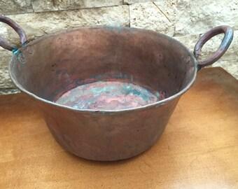 Vintage Hammered  Copper Kettle/Pot ****SALE***