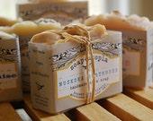 Muskoka Boathouse handmade shea soap - cold processed - 4 oz. - spiced woods