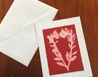 Notecard Red Heart No.3