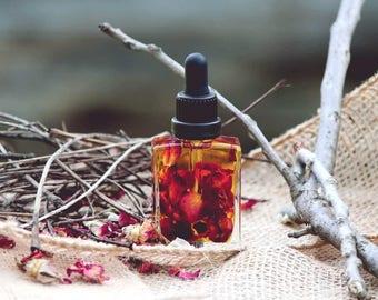 Skin Firming Rose Body Oil | All Natural | Organic oil