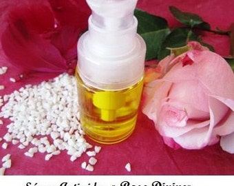 "Oil / Serum organic anti-wrinkle ""Divine Rose"" 8 essential oils"