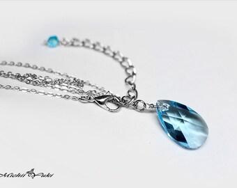 Marvel Avengers Infinity Stone - Space inspired Swarovski Crystal Necklace