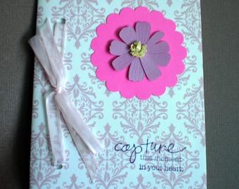 Journal - Pink Damask