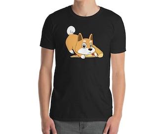Funny Shiba Inu Shirt, Get Your Own Pizza T-Shirt, Cute Shiba Inu Gifts