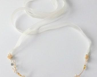 Whimsy Petal Midi-Vine/Bridal Hair Vine