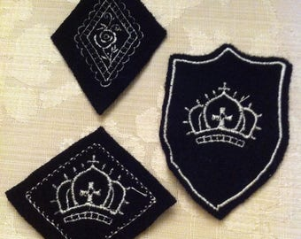 Badges embroidered corduroy leisure crafts