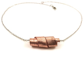 Copper Pendant Necklace One of a Kind