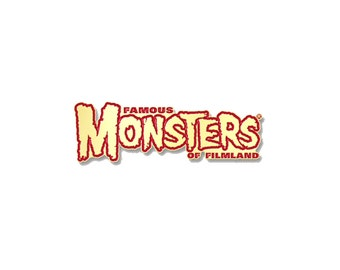 Famous Monsters Logo Enamel Pin