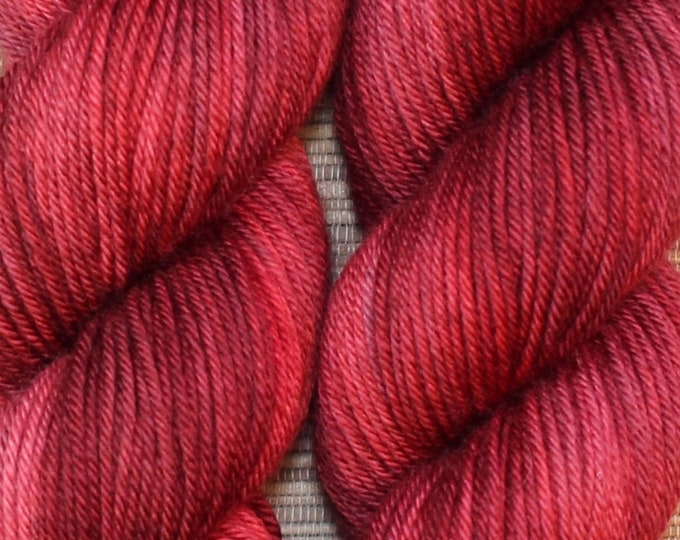 Hand dyed yarn - 'Valentino' - dyed to order on your choice of base yarn.