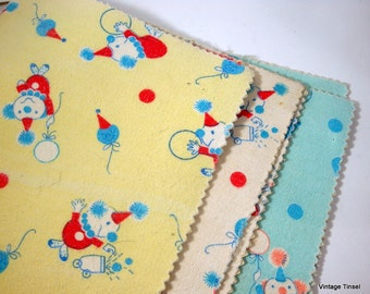 Vintage Baby Burp Pad, Infant Diaper Changing Pads, Yellow, Blue, White  (8209)