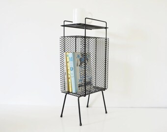 Atomic Magazine Rack / Plant Stand