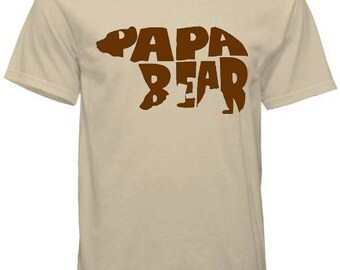 Papa Bear Father's Day Tee
