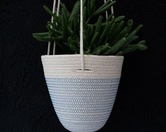 Hanging Planter in Blue Sky