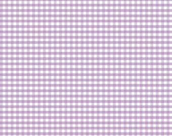 Riley Blake Designs, Small Gingham in Lavender (C440 120)