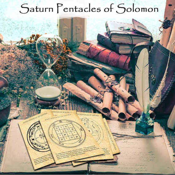 The Saturn Pentacles of Solomon