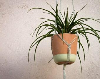 Modern Macrame, Hanging Planter