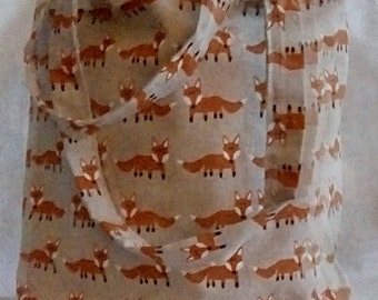 Tote Bag adorable fox