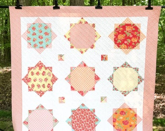 Marmalade Twin Size Quilt - Ready to Ship - Bonnie and Camille