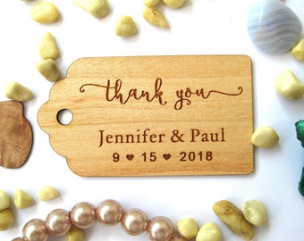 Favor tags, Favour Tags Wedding, Thank you tags, Favor bags tags, Wedding favour tags , Gift tag personalized, Rustic Tags,  Rustic Decor