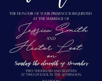 We Do - Digital Wedding Invitation