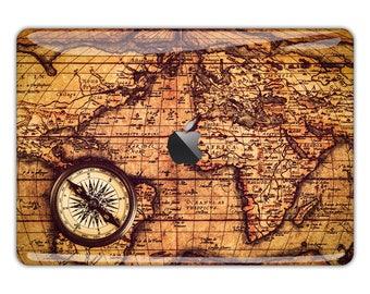 World map macbook pro decal mac book 12 inch skin macbook pro world map macbook skin macbook decal travel macbook sticker compass macbook pro decal vintage macbook air gumiabroncs Choice Image