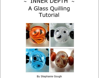 INNER DEPTH - A Glass Quilling Tutorial by Stephanie Gough sra fhfteam leteam lampwork tutorial
