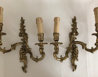 Classic French Sconces - Pair