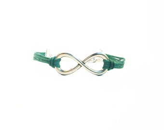 Infinity Bracelet, Charm Bracelet, Friendship Bracelet, Gifts For Girls Bracelet, Best Friend Gift, Customised Bracelet, Good Karma Bracelet
