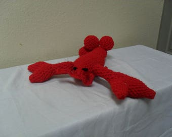 Amigurumi Stuffed Lobster