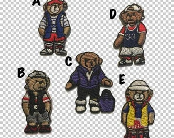 90s Mini Polo Bears Patches // RL Bear Small Patch // Teddy Bear Tiny Patch