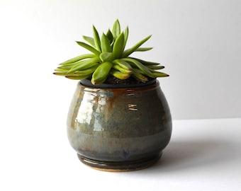 Succulent Planter, Ceramic Planter, Pottery Planter, Handmade Planter,  by RiverStone Pottery