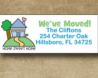 Finest New address labels | Etsy CJ02