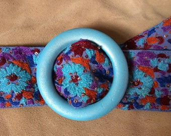 Vintage sari trim belt