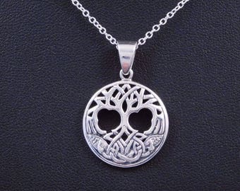 Celtic Tree of Life Pendant with chain Tree of Life Jewelry Tree of Life Necklace